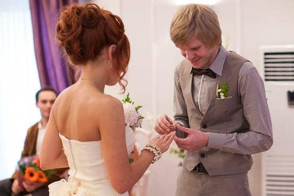 Свадебная фотосессия в ЗАГСе Колпинского района Санкт-Петербурга