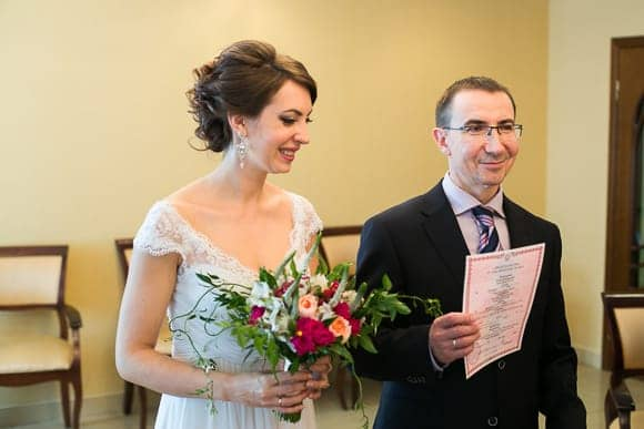 Свадебная фотосессия в ЗАГСе Василеостровского района Санкт-Петербурга