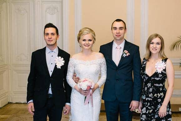 Свадебная фотосессия в Дворце Бракосочетания №1 Санкт-Петербурга